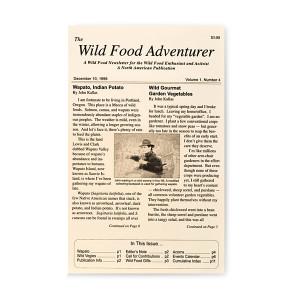 Wild Food Adventurer Newsletter