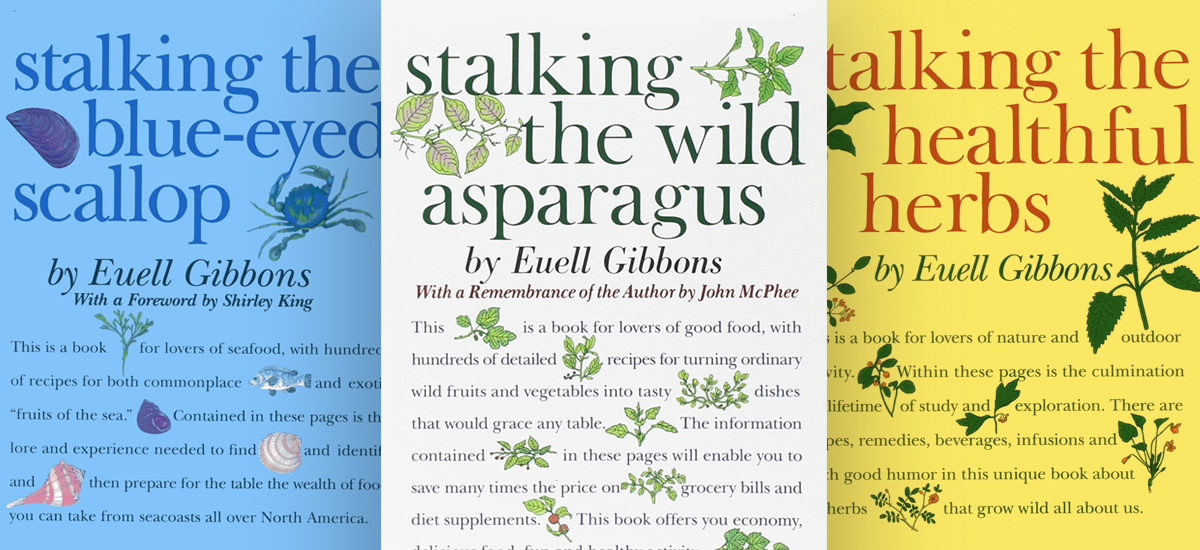 Books by euell gibbons wild food adventures forumfinder Image collections